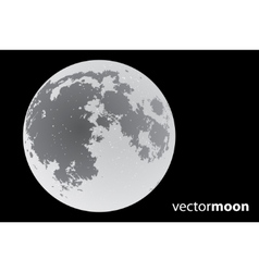 Vector moon vector