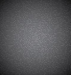 Dark metal doted texture vector image vector image