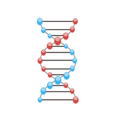 dna science molecule genetic background structure vector image