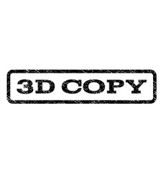 3d copy watermark stamp vector