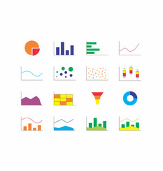 chart types vector image