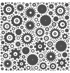 Gear cog wheels background vector