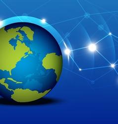 Globalization network vector
