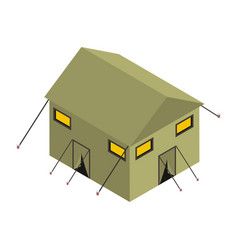 Military camp vector
