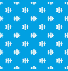 repair thing pattern seamless blue vector image vector image