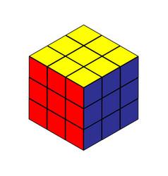 Rubiks cube vector