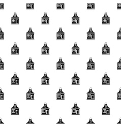 Small house pattern simple style vector