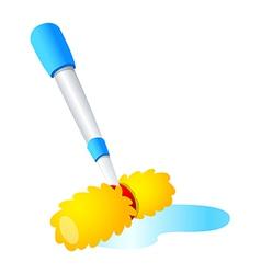 Sweeping vector