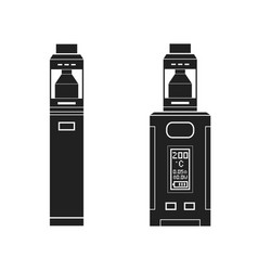 Vaporizers mods types vector