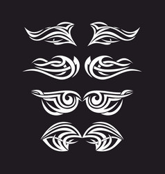 The wings of the holy spirit vector