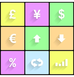 Forex icons 2 vector