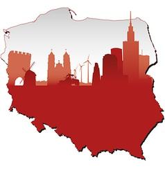 Poland vector image vector image