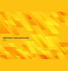 abstract modern shape yellow geometric diagonal vector image