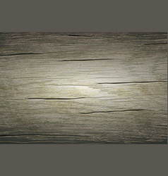 Background texture old cracked wooden boards vector