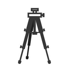 Camera tripod icon Gadget design graphic vector image