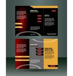 Creative Flyer design vector