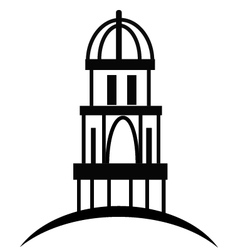 Cupola or temple vector