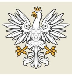 Heraldic eagle19 vector