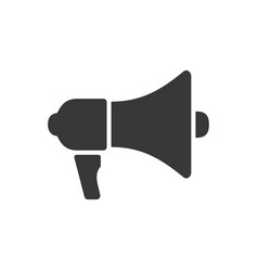 megaphone icon images vector image