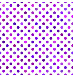 purple seamless dot pattern background - design vector image