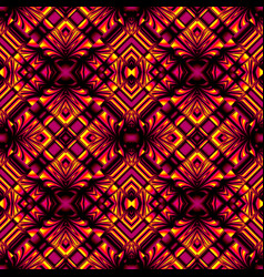 Seamless pattern in magic colors vector