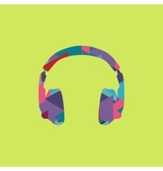 headphones icon trendy vector image