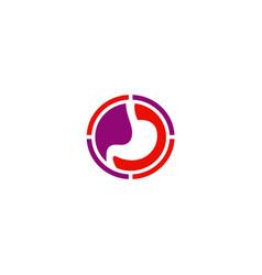 side organ human icon logo vector image