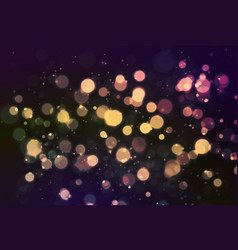 abstract holiday background bokeh effect vector image