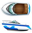 A transportation vessel vector image vector image