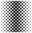 abstract monochrome dot pattern - geometrical vector image vector image