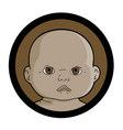 african baby vector image