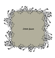 Art frame sketch for your design vector image vector image