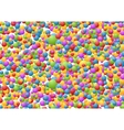 Bright circles pattern vector image vector image