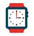 elegant wristwatch isolated icon design vector image