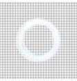 glowing light circle vector image vector image