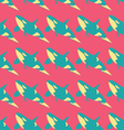 Grampus seamless pattern in neon colors vector image vector image