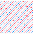 red and blue texture vector image vector image