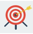 Targeting icon vector image