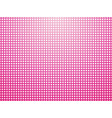 beautiful pink background of small white polka vector image