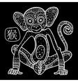Chinese Zodiac Animal astrological sign monkey vector image vector image