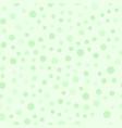 green circle pattern seamless vector image