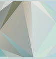 polygonal square background beige gray blue colors vector image vector image