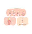 pregnancy motherhood expecting for childbirth vector image