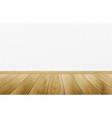 realistic wood texture background wood floor vector image