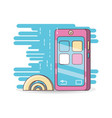 technology devices and multimedia gadget vector image vector image