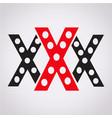 xxx icon vector image