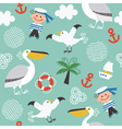 children fabric design vector image vector image
