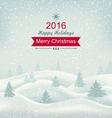 Christmas Winter Nature vector image