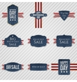 Independence Day patriotic Banners Set vector image vector image