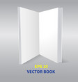 paper book-02 vector image vector image